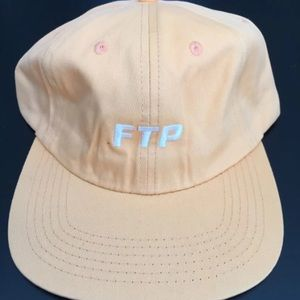 F*UCK THE POPULATION FTP PEACH HAT